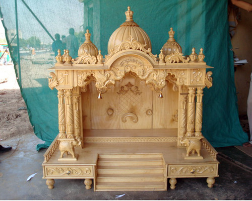 Wooden Temple In Kareli Baugh Vdr Vadodara Ancient Wooden Handicrafts