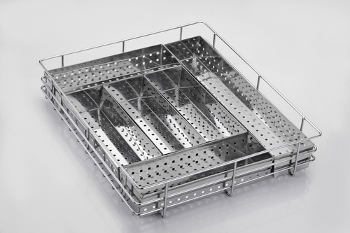 Perforated Premium Box Cutlery Kitchen Basket In Dhebar Road Rajkot Exporter And Manufacturer
