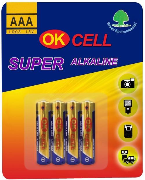 Alkaline Battery L603AAA