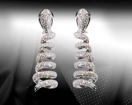 Chandelier Design Diamond Earrings in N.S. Patkar Mg-Huges Rd ...