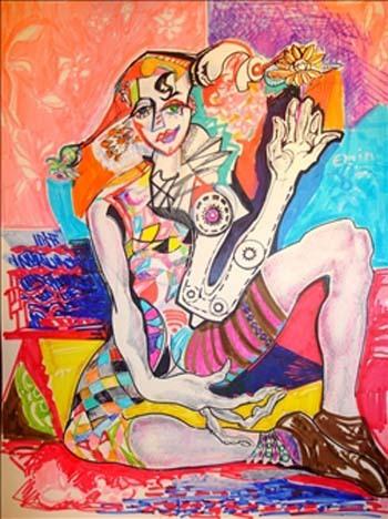 Designer Oil Paintings On Canvas