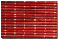 Red Bamboo Blinds