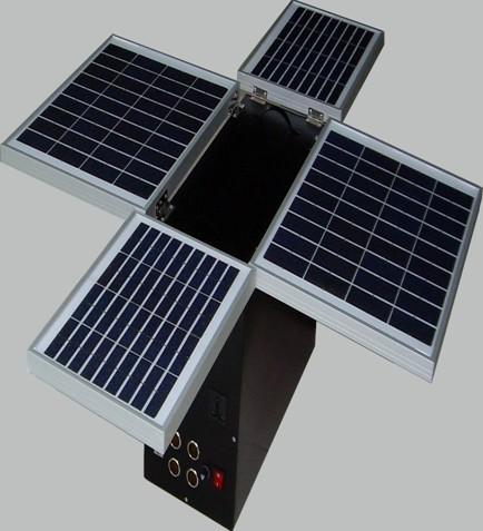 60w Foldable Solar System