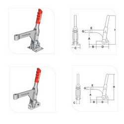 Fixed Spindle Arms Toggle Clamps