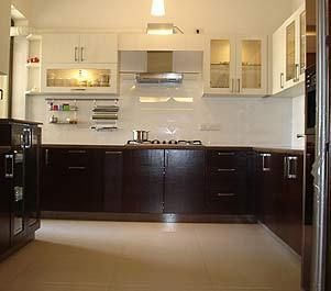 Kitchen interior design in mayapuri i new delhi ansa for Latest modern kitchen design in india