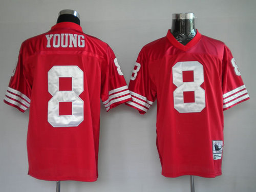 NFL San Francisco 49ers #8 Young Football Jersey