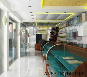 Showroom Interior Design In Mayapuri