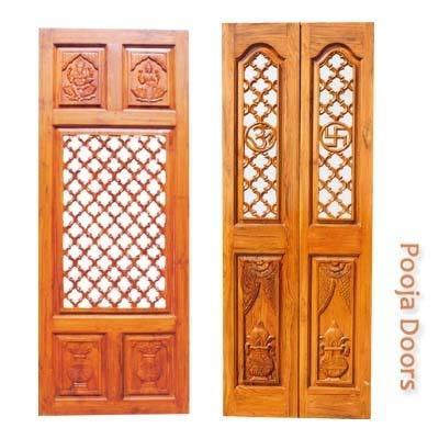 pooja doors with carvings in bowenpally secunderabad