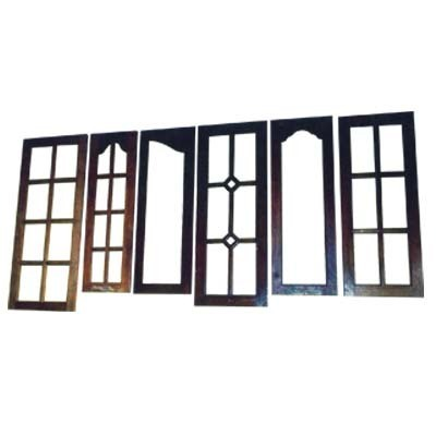 Teak wood window shutters in bowenpally secunderabad for Front window design in india