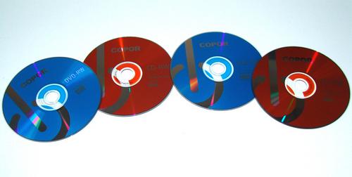 blank CD-RW
