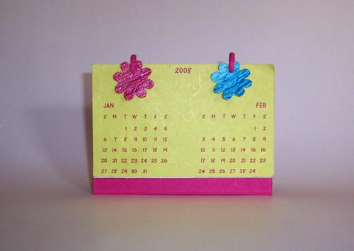 Handmade Calendar Designs : Handmade paper calendar in allahabad uttar pradesh