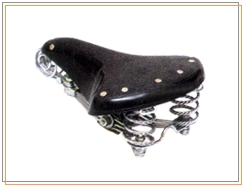 Saddle 90x3 Pvc/ Leather Top