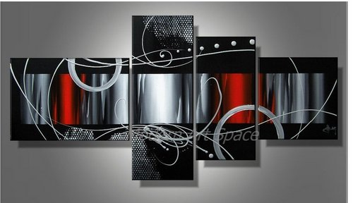 Modern Abstract Oil Painting Large Art Canvas Art