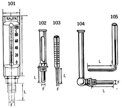 Mercury Filled Thermometers