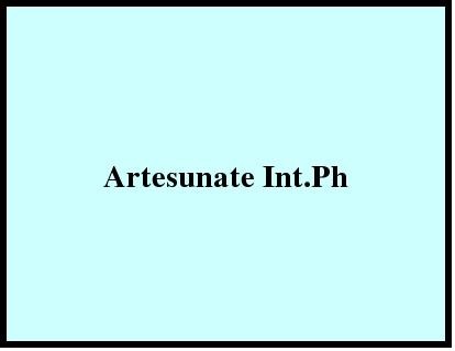 Artesunate Int.Ph