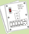 Electrical Flush Switch Board