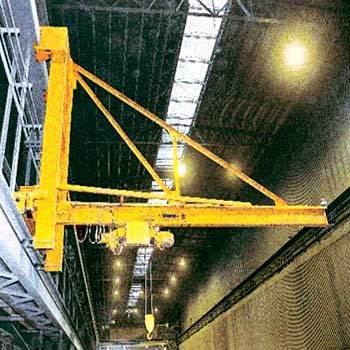 Wall Traveling Jib Cranes in  Nit Indl. Area