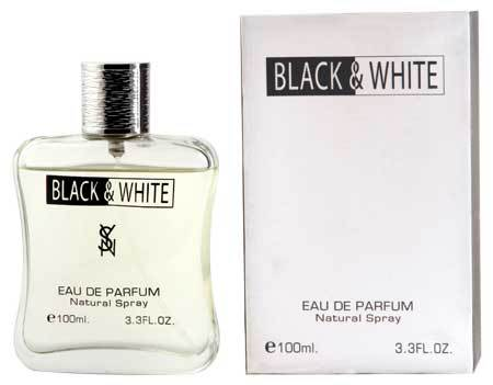 black and white perfume