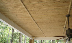 Bamboo Mat Roofing