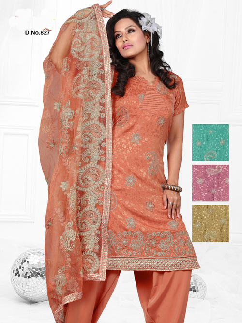 Unstitched Salwar Suit in  Chandni Chowk
