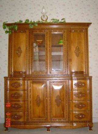 Crafted Wooden Showcase