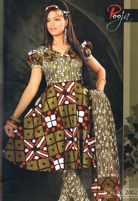 Ladies Printed Suits in  Radha Krishna Tex. Mkt. (Rr)