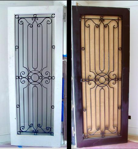 Stainless steel main door grills in gulalwadi mumbai Front door grill designs india