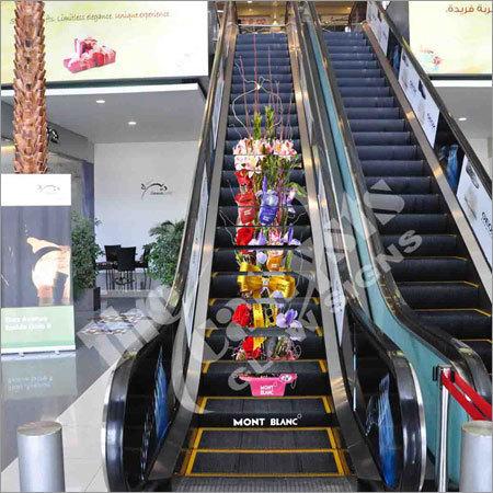 Escalator Wrap Advertising In Barewal Road Ludhiana The