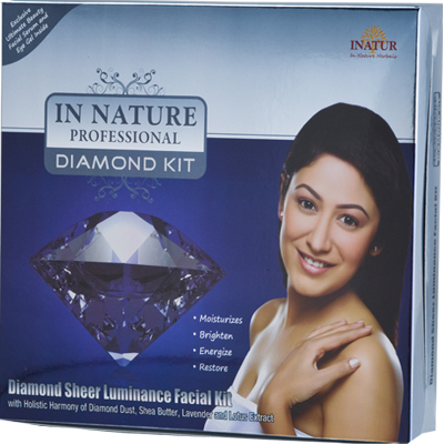 Mini Diamond Sheer Luminance Facial Kit in  63-Sector