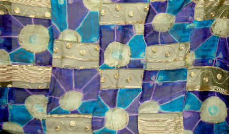 Organza Patchwork Fabric