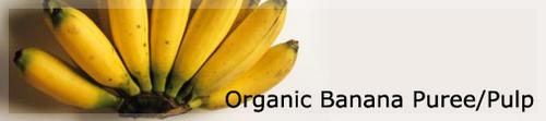 Organic Banana Puree Pulp