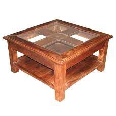 Seasoned Wood Made Coffee Table