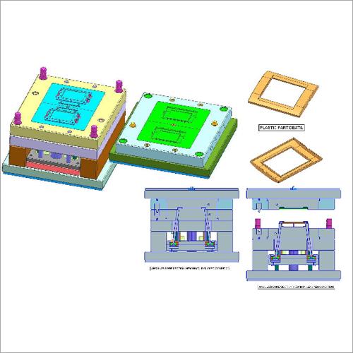 Double Cavity Full Auto 4 Angular Cores Mold