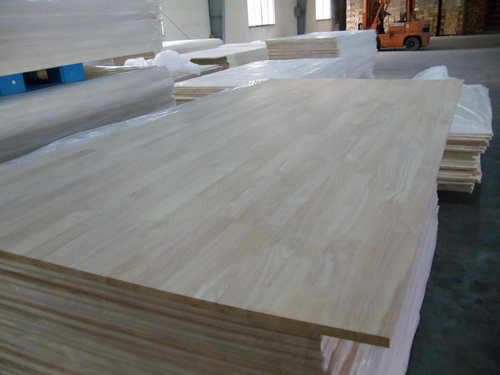 Rubber Wood Finger Joint Panels in   Ben Cat District