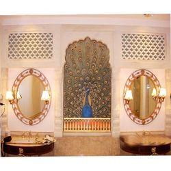 Mughal Wall Painting