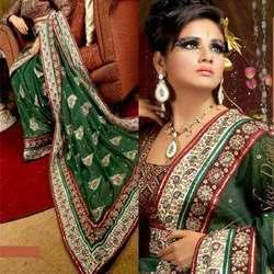 Bridal Zari Work Sarees