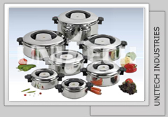 Stainless Steel Insulated Casseroles