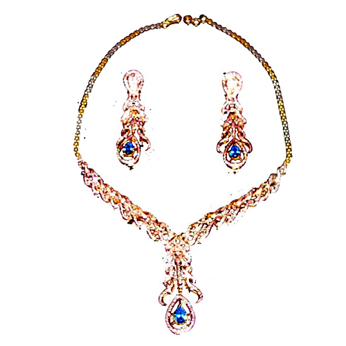 Diamond Necklace Set in  Chandni Chowk