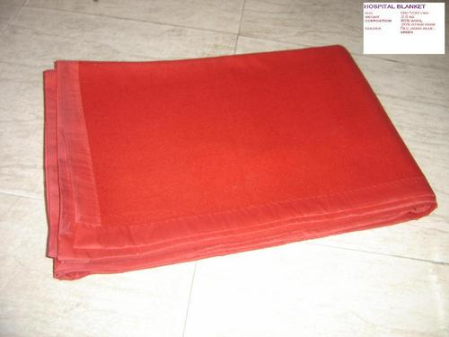 Red Hospital Blanket