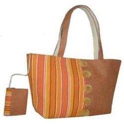 Jute And Canvas Bag in  Kaushambi