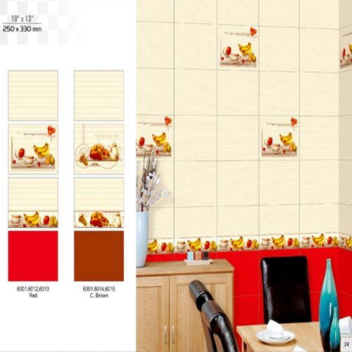 Luster Ivory Kitchen Tiles In Ravapar Road Morbi Rock Ceramic