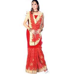 Embroidered Bridal Saree