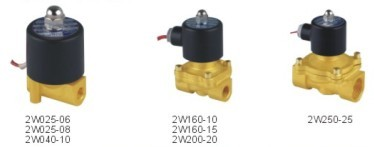 2w Normally Closed Series Solenoid Valves