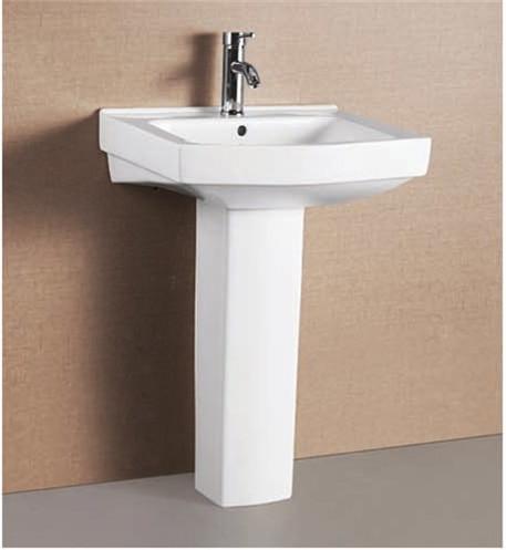 Pedestal wash basin in new area ludhiana kuka emprioum for Latest wash basin designs india