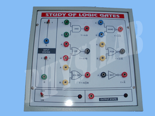 Logic Gates Experiment (Five In One)