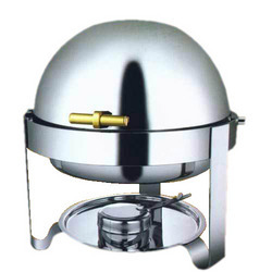 Round Roll Tops Chafing Dishes