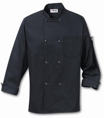 Black Color Chef Coats