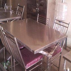 Steel Dinning Table Set