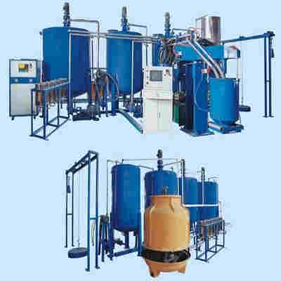 Polyurethane Automatic Box Foaming Machine
