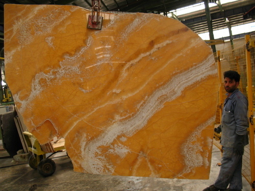 Bedrosians Orange Onyx : Persian pure white onyx blocks in esfahan majid